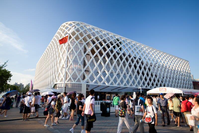 Padiglione 2010 della Schang-Hai-Francia dell'Expo immagine stock libera da diritti