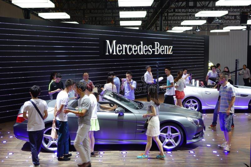 Padiglione del benz di Mercedes immagini stock