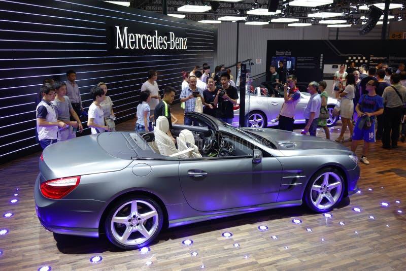 Padiglione del benz di Mercedes fotografia stock
