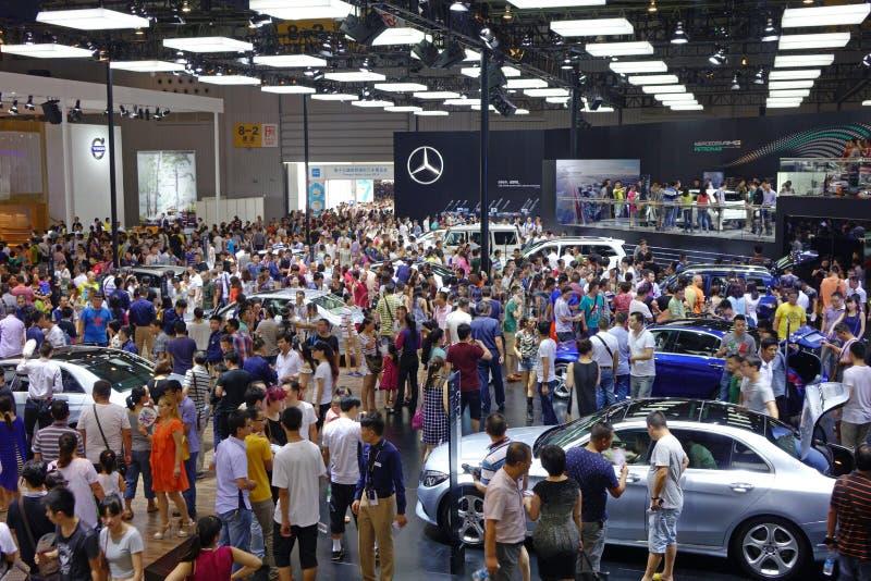 Padiglione del benz di Mercedes fotografie stock libere da diritti