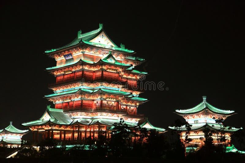 Padiglione del tengwang di Nan-Chang, jiangxi, Cina fotografia stock