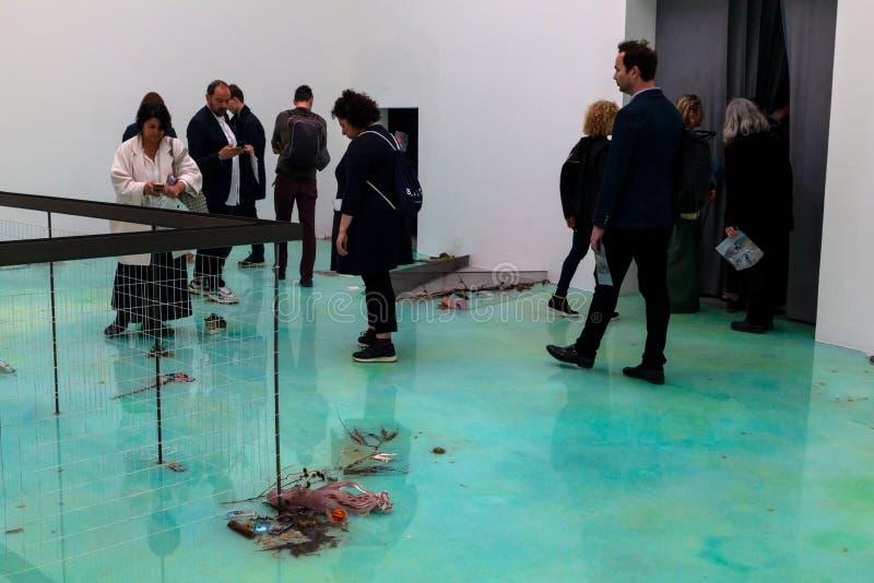 Padiglione della Francia a cinquantottesima Venezia Biennale, 2019 fotografia stock libera da diritti