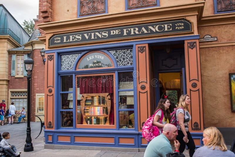 Padiglione della Francia a Epcot immagini stock libere da diritti