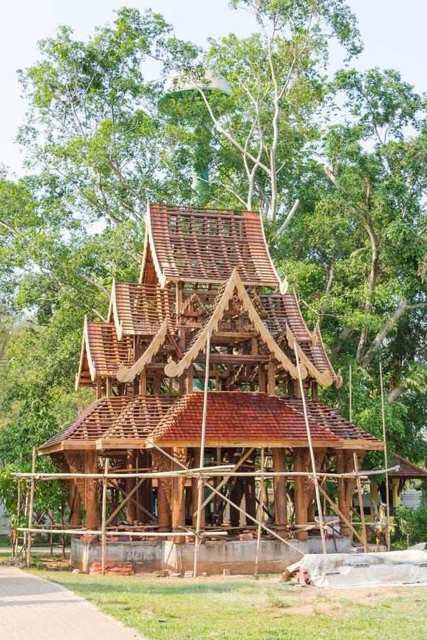 Padiglione di legno immagine stock libera da diritti