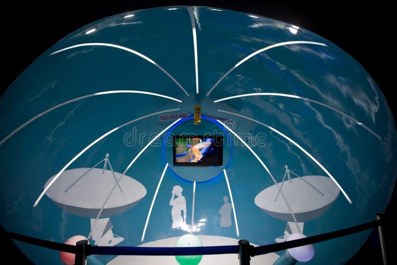 Padiglione domestico 2010 dello Schang-Hai-Spazio dell'Expo immagine stock libera da diritti