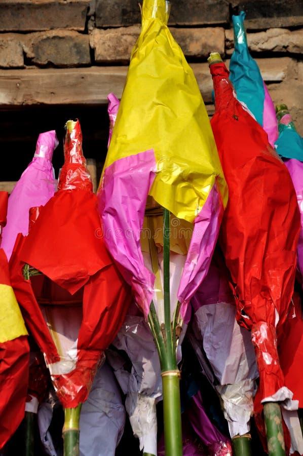Padlantaarn op Padfestival stock afbeelding
