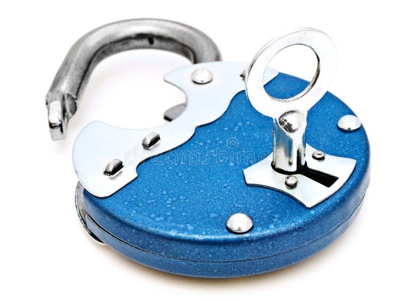 padlock arkivbild