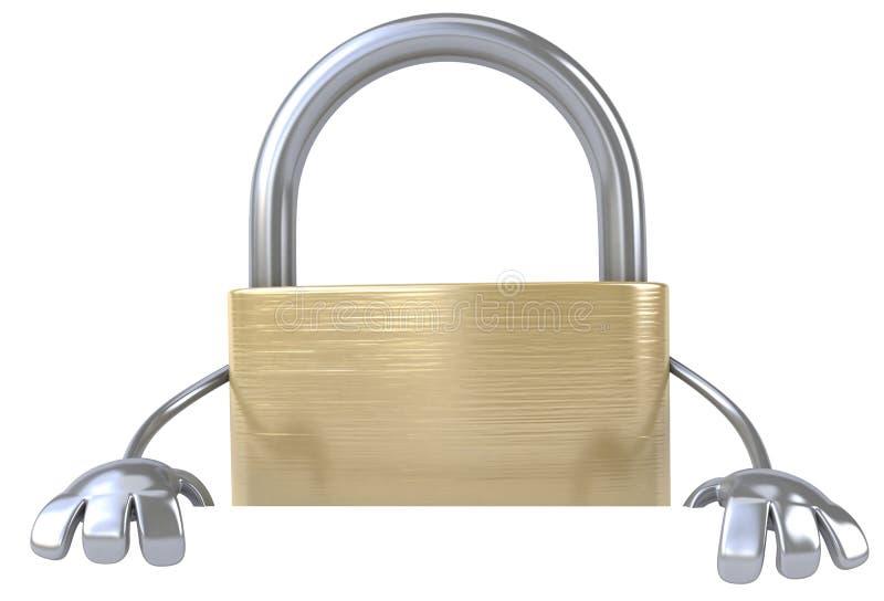Download Padlock stock illustration. Image of network, shielding - 24148159