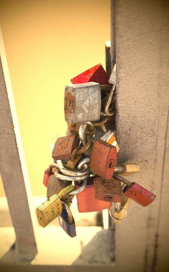 padlock стоковое изображение