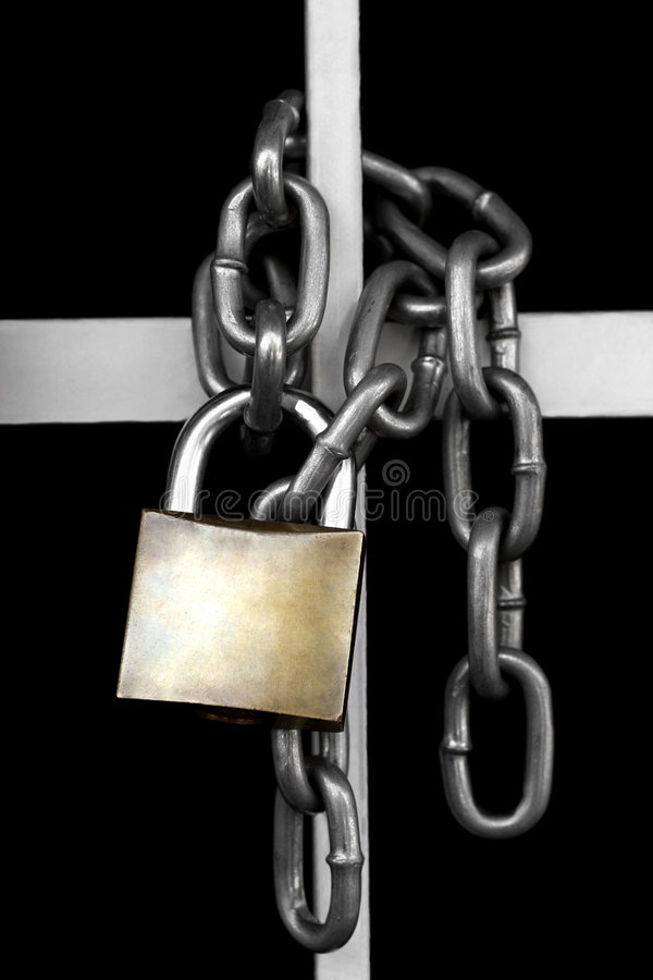 Free Padlock And Chain Stock Photography - 2968562