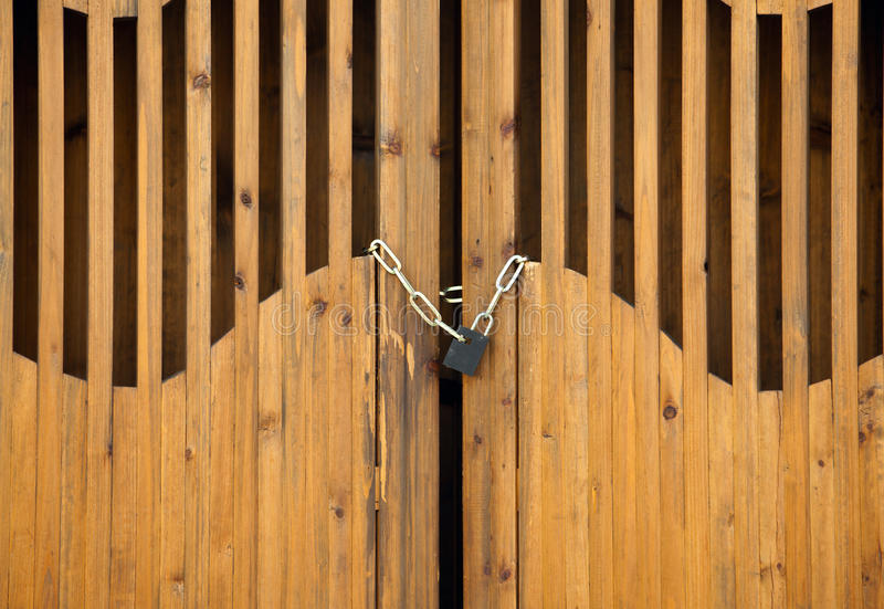 Download Padlock with chain stock image. Image of close, curve - 13858431