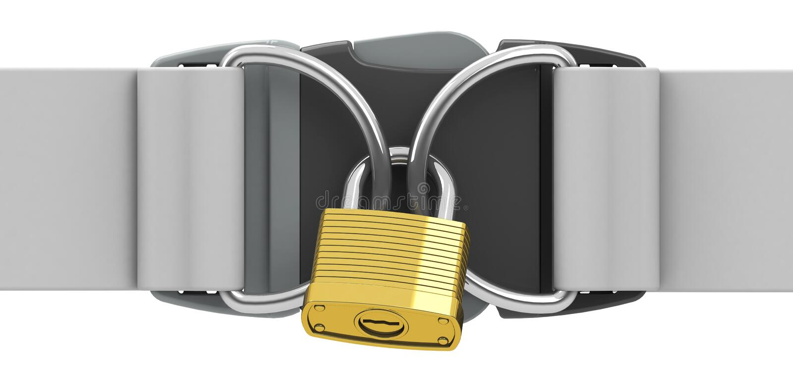 Download The Padlock Stock Illustration - Image: 39607560
