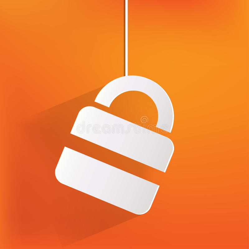 Download Padlock Web Icon Royalty Free Stock Photography - Image: 35832337