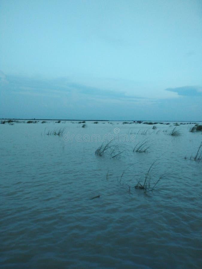 Padma-Fluss lizenzfreies stockfoto