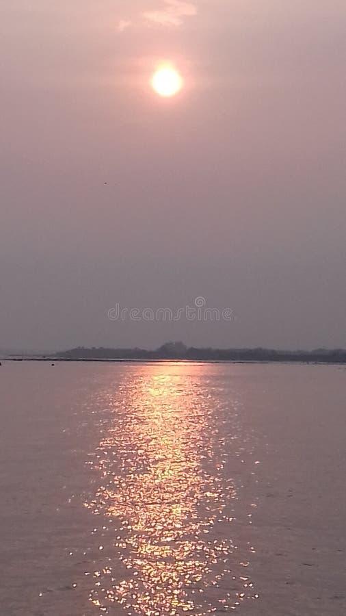 Padma-Fluss stockbilder