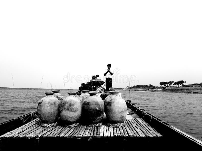 Padma River Bangladesch lizenzfreies stockfoto