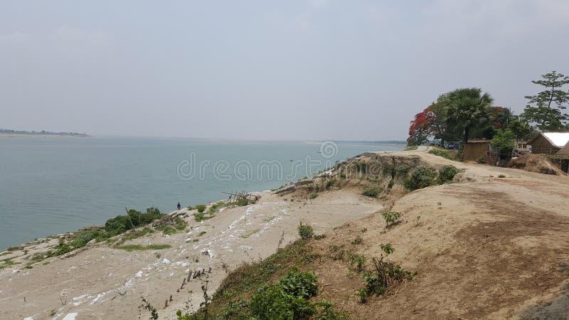 Padma rzeka Bangladesh zdjęcie stock