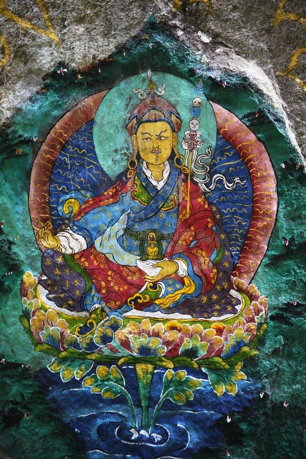 Padmasambhava foto de stock