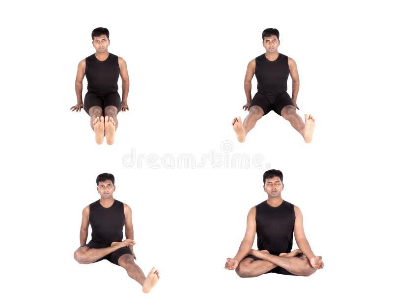 Download Padmasana Step By Step Stock Photos - Image: 28276953