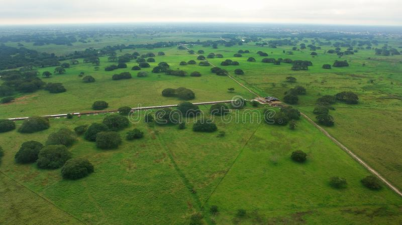 Padoku widok z lotu ptaka zdjęcie stock