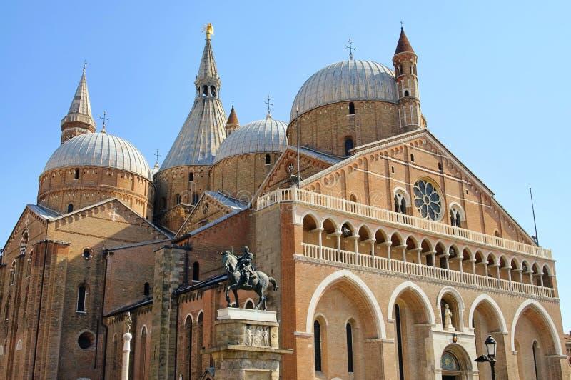 Padova Bazylika Di Sant Antonio fotografia stock