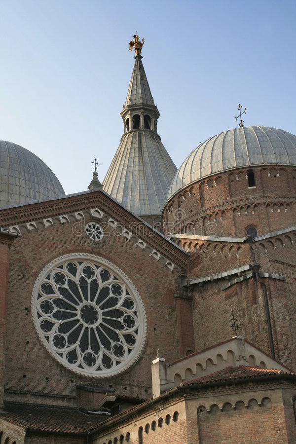 Padova the Dome, detail royalty free stock photography