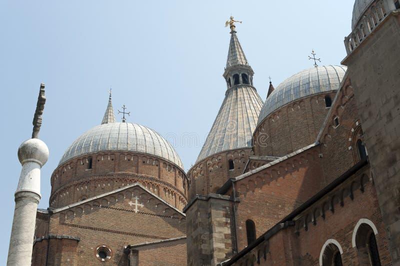 Padova, Sant'Antonio church stock images