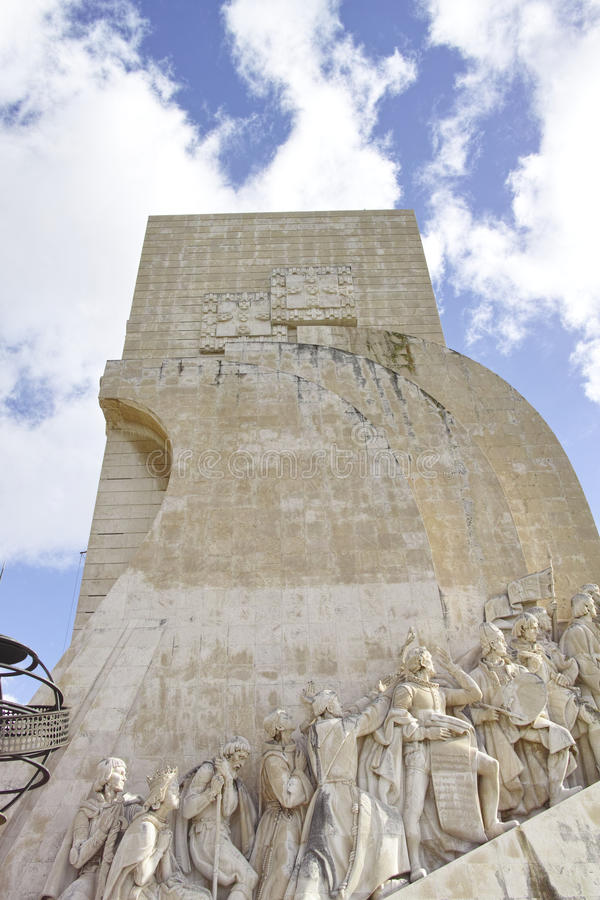 Padrao Dos Descobrimentos, monument de découverte, Lisbonne photos libres de droits