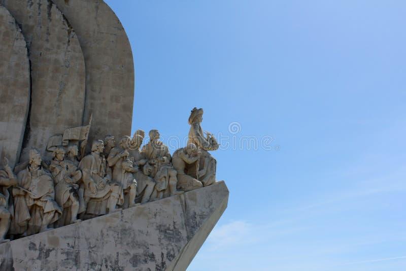 Padrao Dos Descobrimentos, monument de découverte, Lisbonne, Portugal image libre de droits