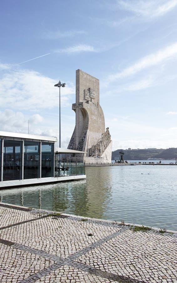 Padrao Dos Descobrimentos, monumento di scoperta, Lisbona immagini stock libere da diritti