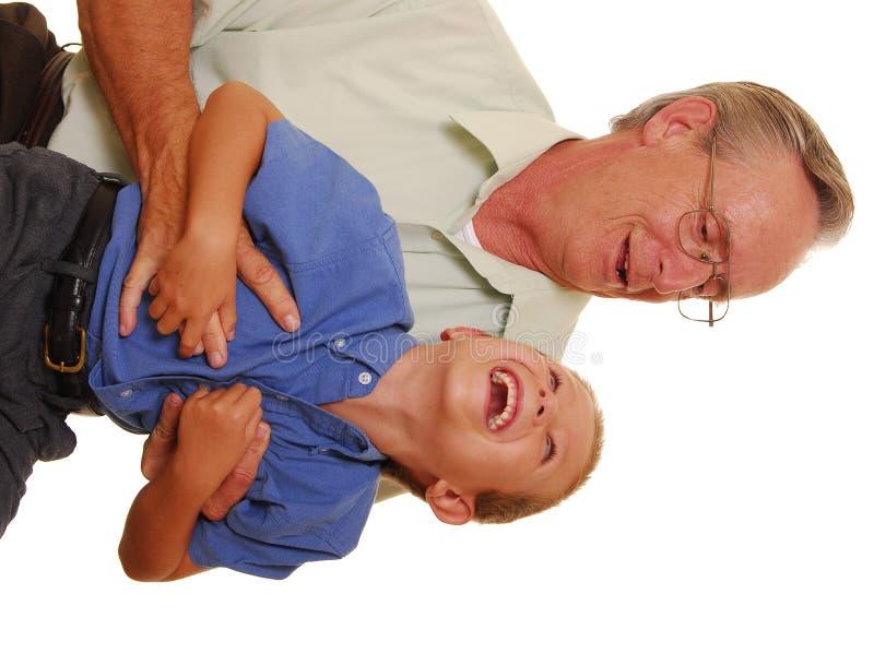 Padre & figlio anche fotografia stock libera da diritti