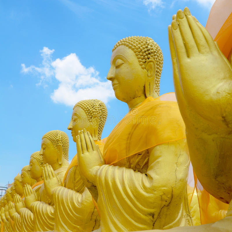 Padre de Saint no budismo foto de stock royalty free