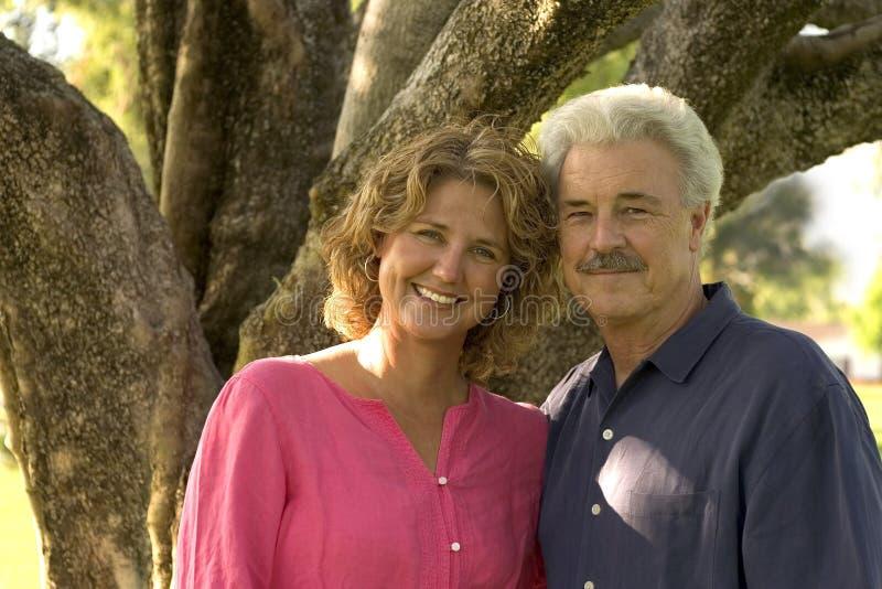Padre e figlia fotografia stock