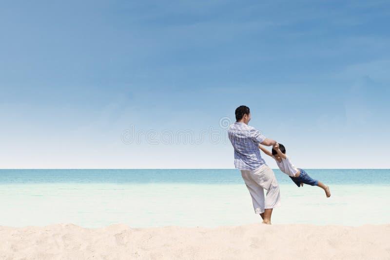 Padre e figlio immagine stock libera da diritti