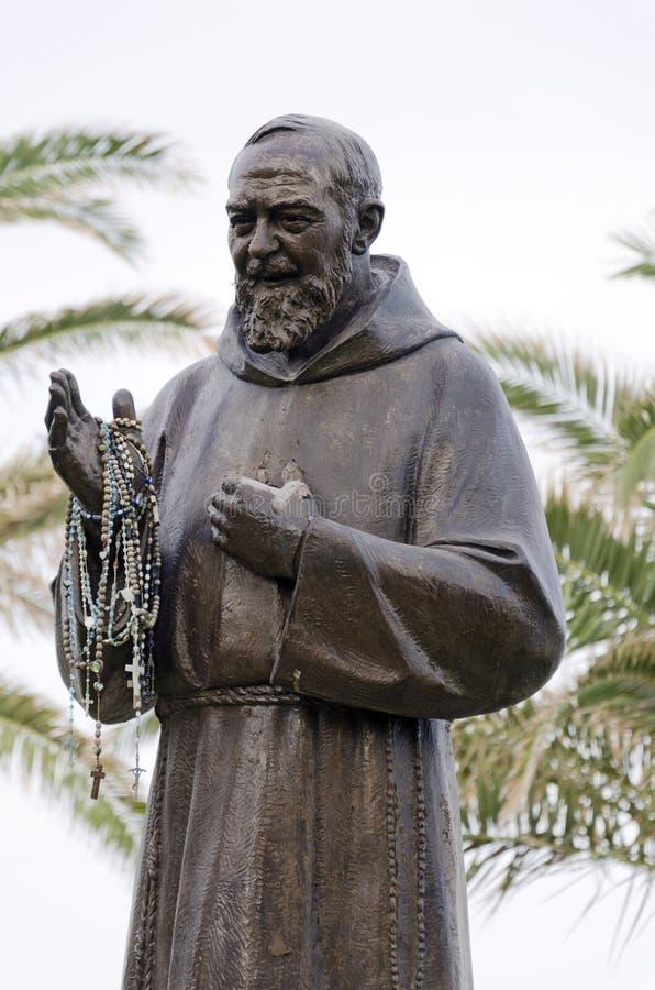 Padre Pio image libre de droits