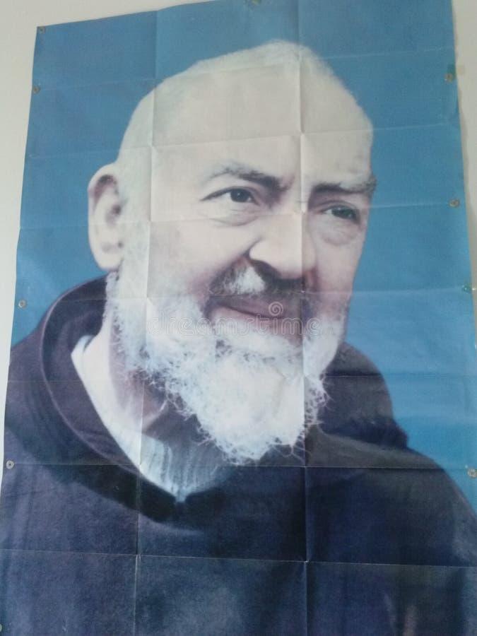 Padre Pio fotografie stock