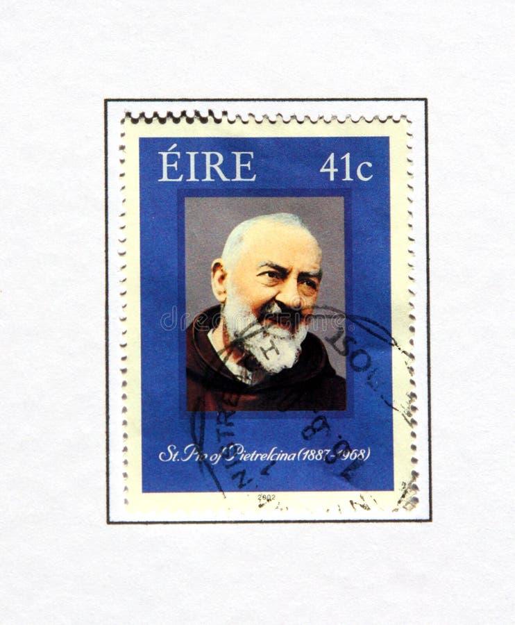 Padre Pio de saint photos libres de droits