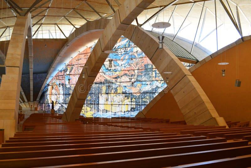 Padre Pio Pilgrimage Church stock photo