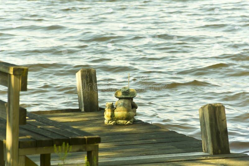 Download Padre Son Fishing foto de archivo. Imagen de ocio, juguetón - 42428186