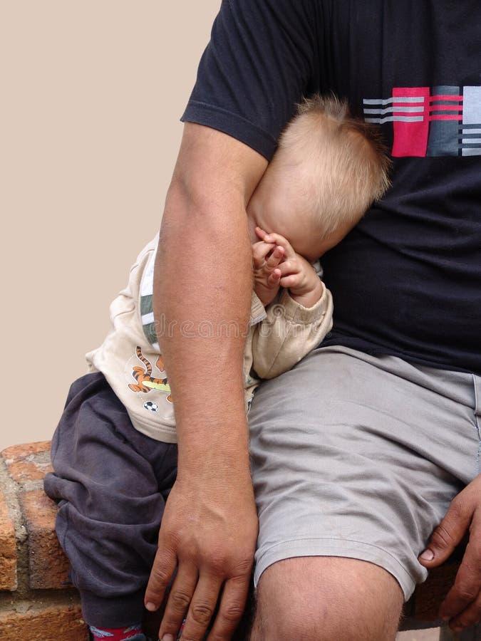 Padre y niño imágenes de archivo libres de regalías