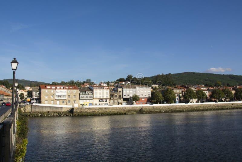 Padron, Γαλικία, Ισπανία στοκ εικόνες