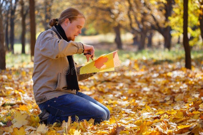 Padrone di autunno immagine stock libera da diritti