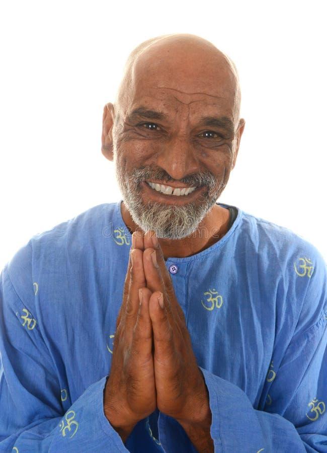 Padrone di yoga fotografia stock