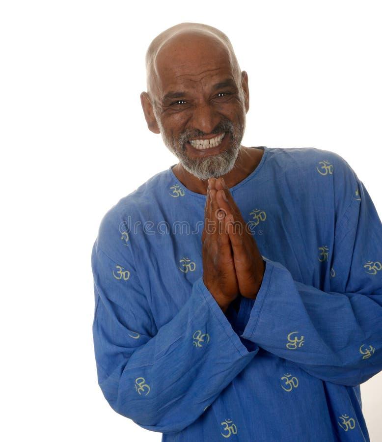 Padrone di yoga fotografia stock libera da diritti