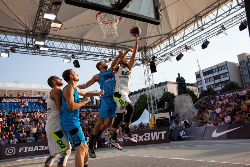 Padroni di giro del mondo di pallacanestro di FIBA 3X3 fotografia stock libera da diritti