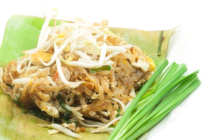 Padthai é alimento tailandês fotos de stock