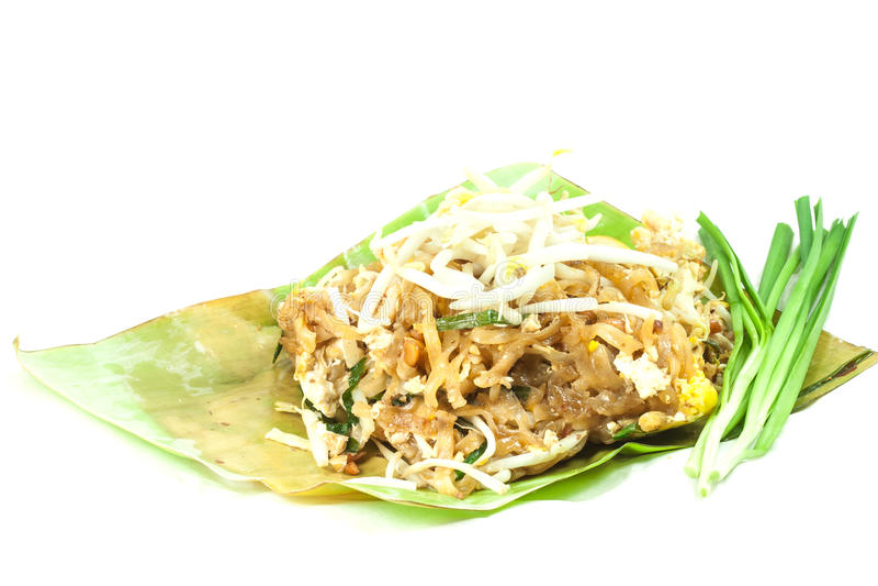 Padthai é alimento tailandês fotografia de stock royalty free