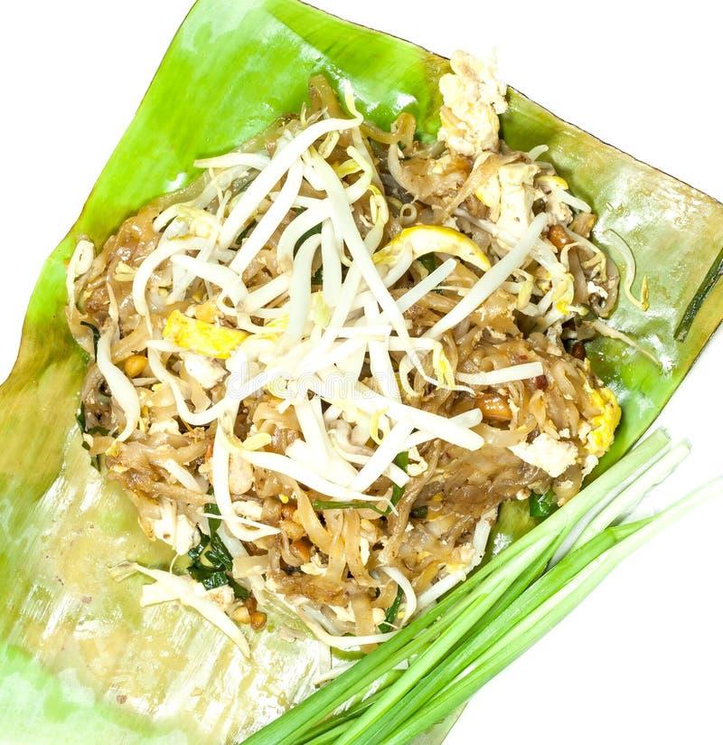 Padthai é alimento tailandês imagens de stock royalty free