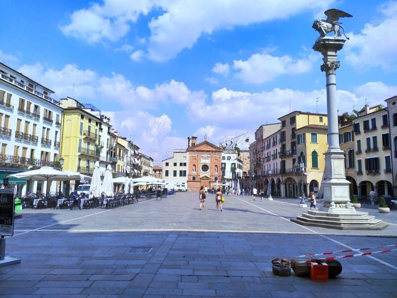 Padua «Lords kwadratowy «Włochy fotografia stock
