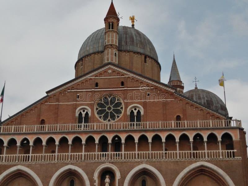 Padua italy saint anthony basilica panoramic view stock photo